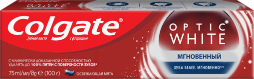 Изображение Зубная паста COLGATE Optic White Instant
